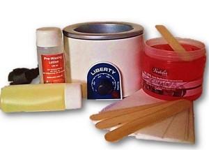 Waxing - Set - Wachserhitzer